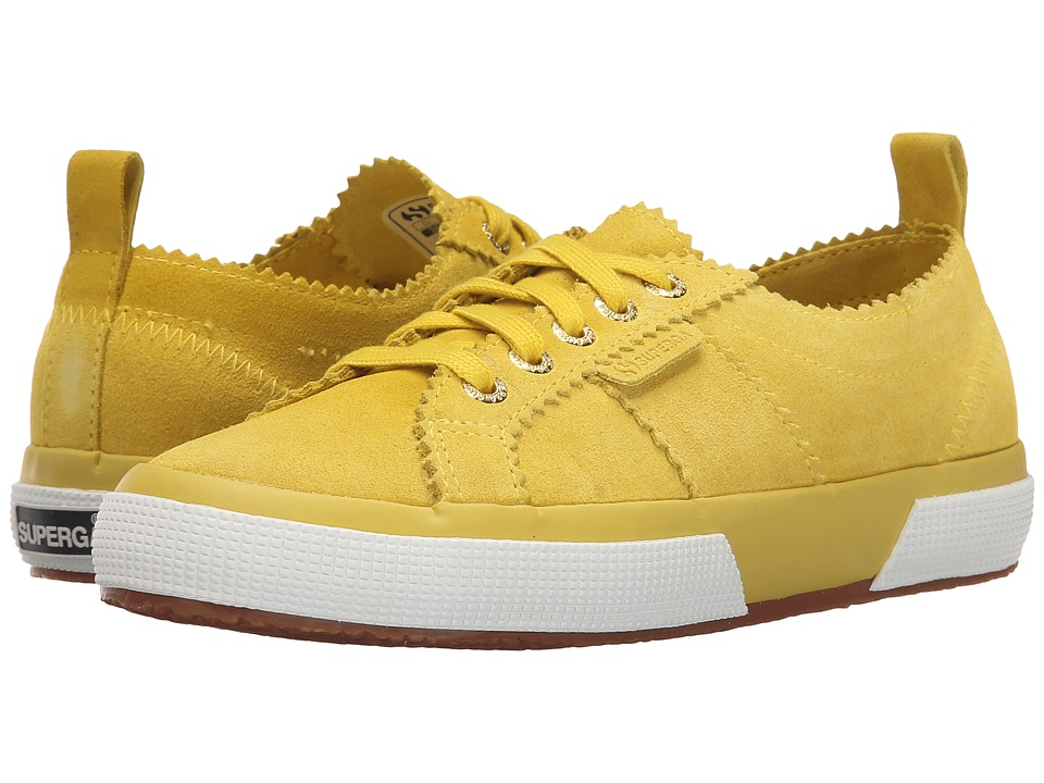Superga - 2750 Sue W (Lemon) Women's Lace up casual Shoes