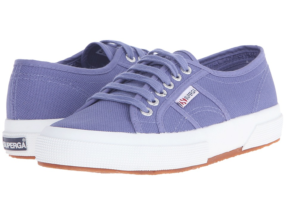 Superga - 2750 COTU Classic (Blue Velvet) Lace up casual Shoes