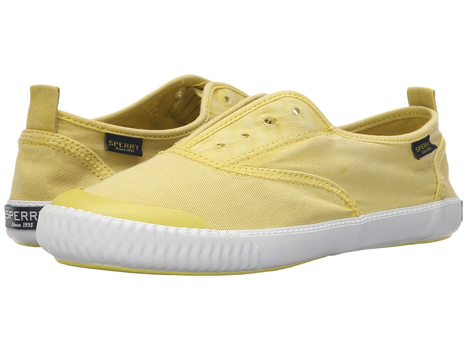 Sperry Top-Sider Sayel Clew Ox Washed (Light Yellow) Women