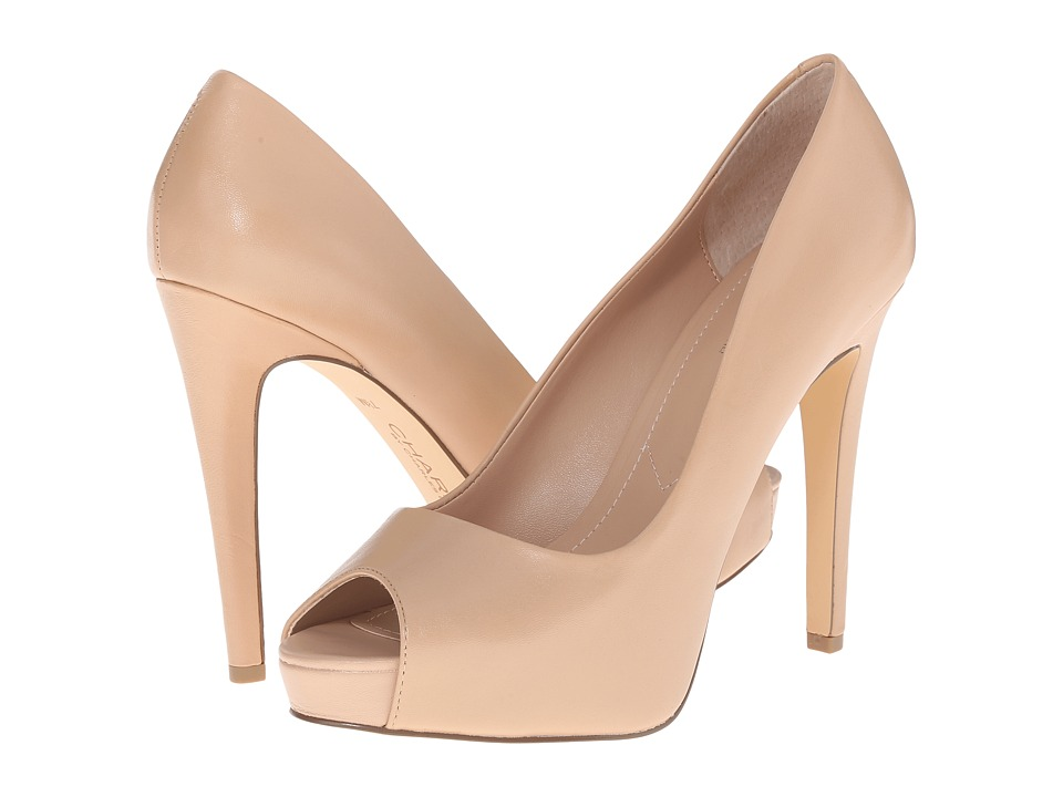 Charles by Charles David - Fox (Nude Leather) High Heels