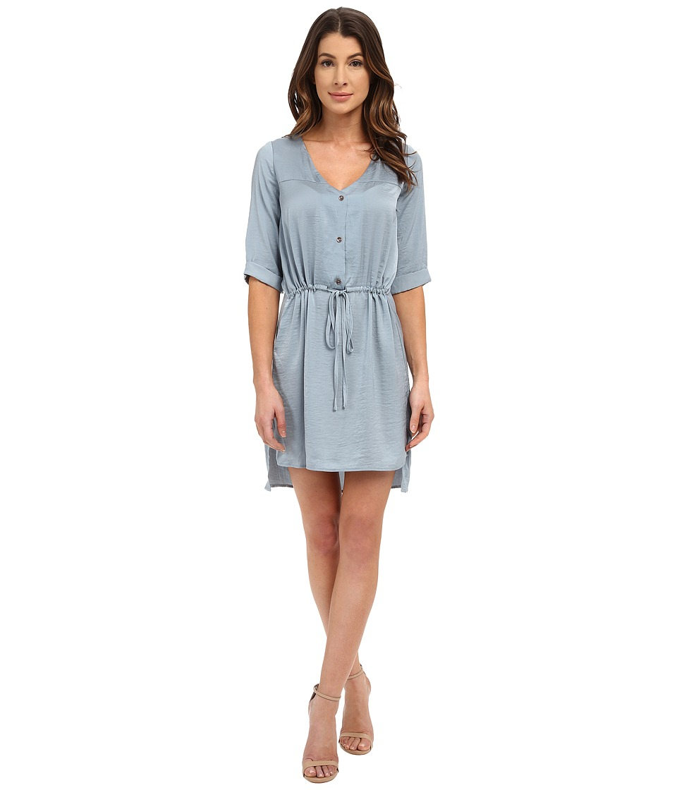 B Collection by Bobeau - Drop Waist Dress (Chambray Blue) Women's Dress