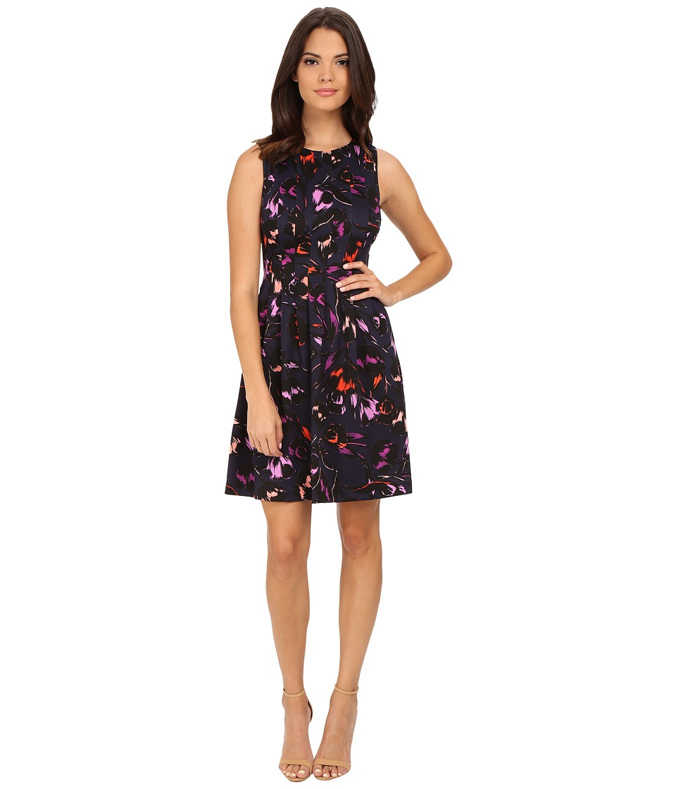 Vince Camuto - Sleeveless Printed Fit Flare Dress (Print) Women