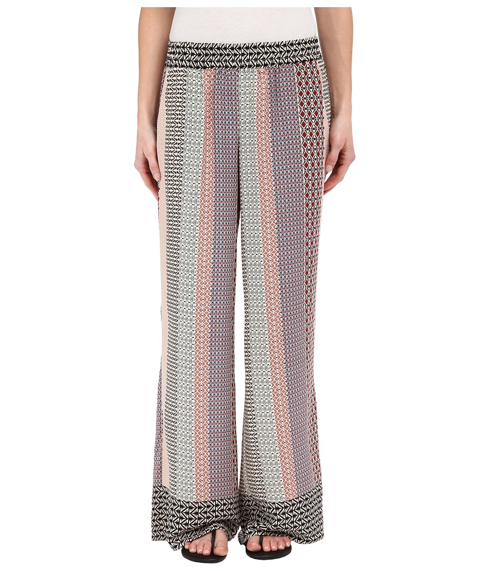 B Collection by Bobeau - Printed Palazzo Pants (Mixed Print) Women's Casual Pants