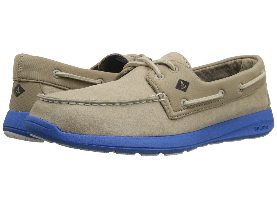 Sperry - Sojourn 2 - Eye Micro Fiber (Taupe) Men's Slip on Shoes