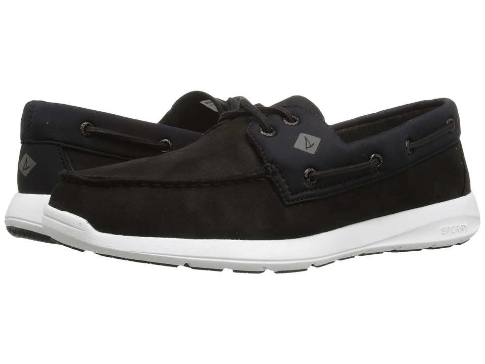 Sperry Top-Sider - Sojourn 2 - Eye Micro Fiber (Black) Men's Slip on Shoes