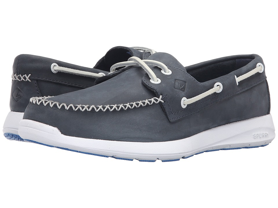 Sperry Top-Sider Sojourn 2 Eye Leather (Navy) Men