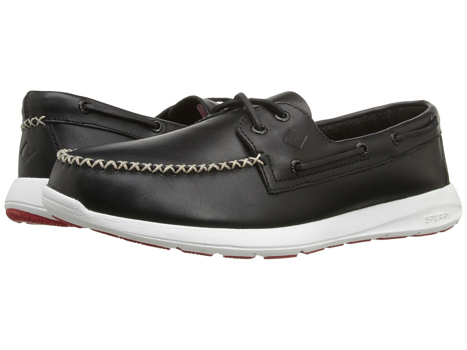 Sperry Top-Sider Sojourn 2 Eye Leather (Black) Men