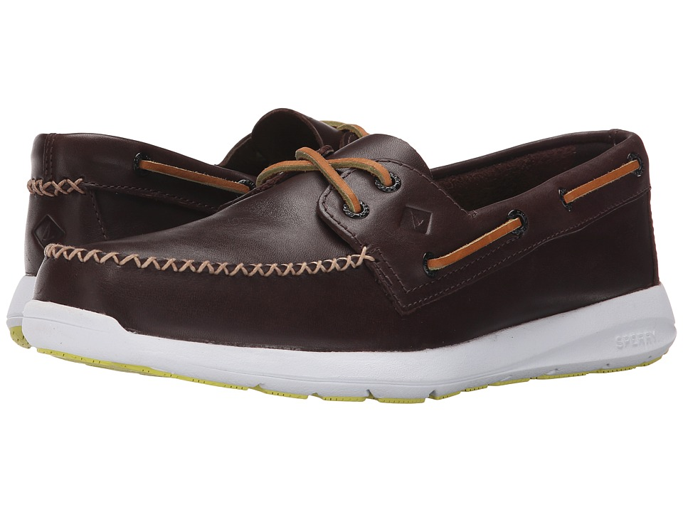 Sperry Top-Sider Sojourn 2 Eye Leather (Classic Brown) Men