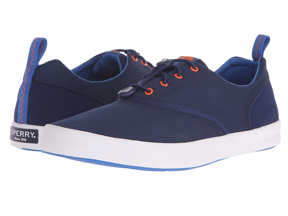 Sperry Top-Sider - Flex Deck CVO (Blue) Men's Lace up casual Shoes