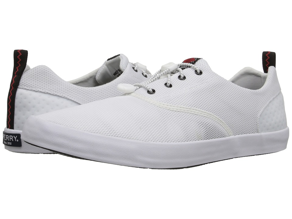 Sperry - Flex Deck CVO (White) Men's Lace up casual Shoes