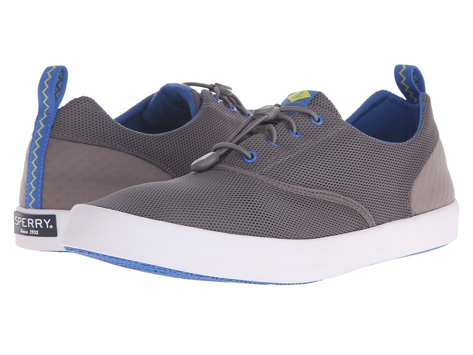 Sperry Top-Sider - Flex Deck CVO (Grey) Men's Lace up casual Shoes