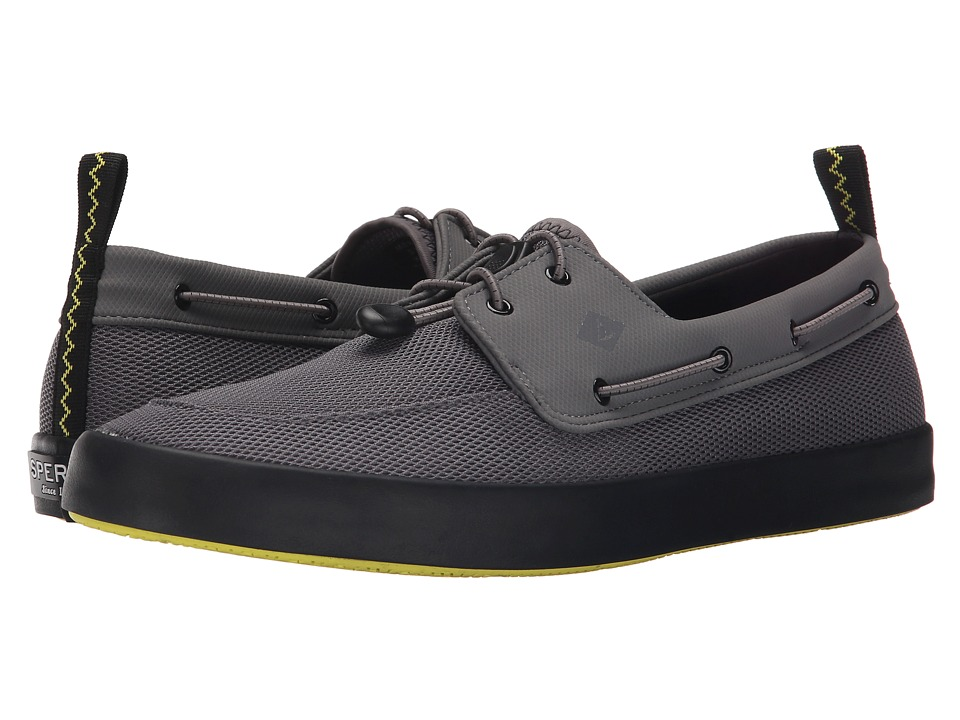 Sperry - Flex Deck Boat (Grey) Men's Lace up casual Shoes