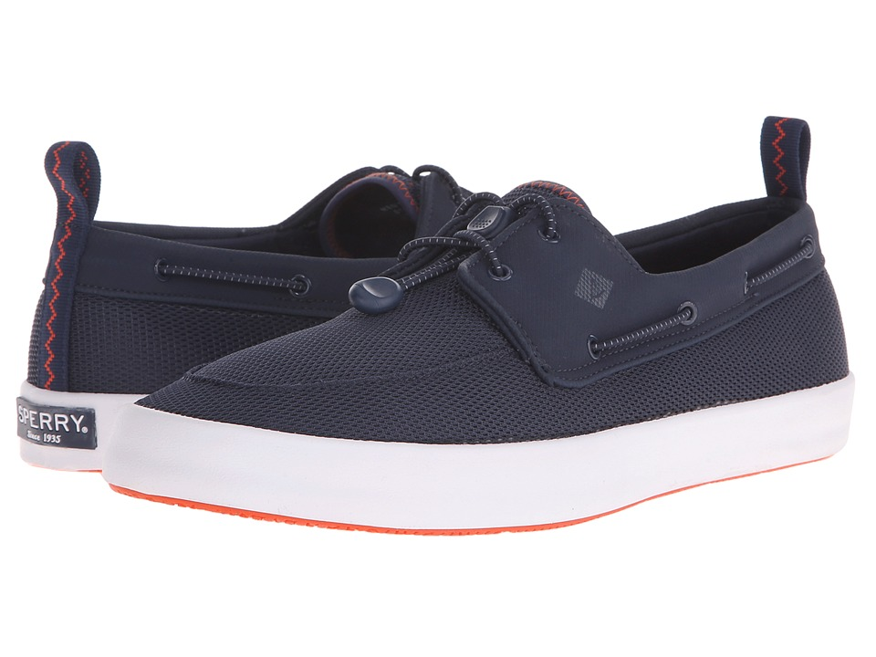 Sperry - Flex Deck Boat (Navy) Men's Lace up casual Shoes