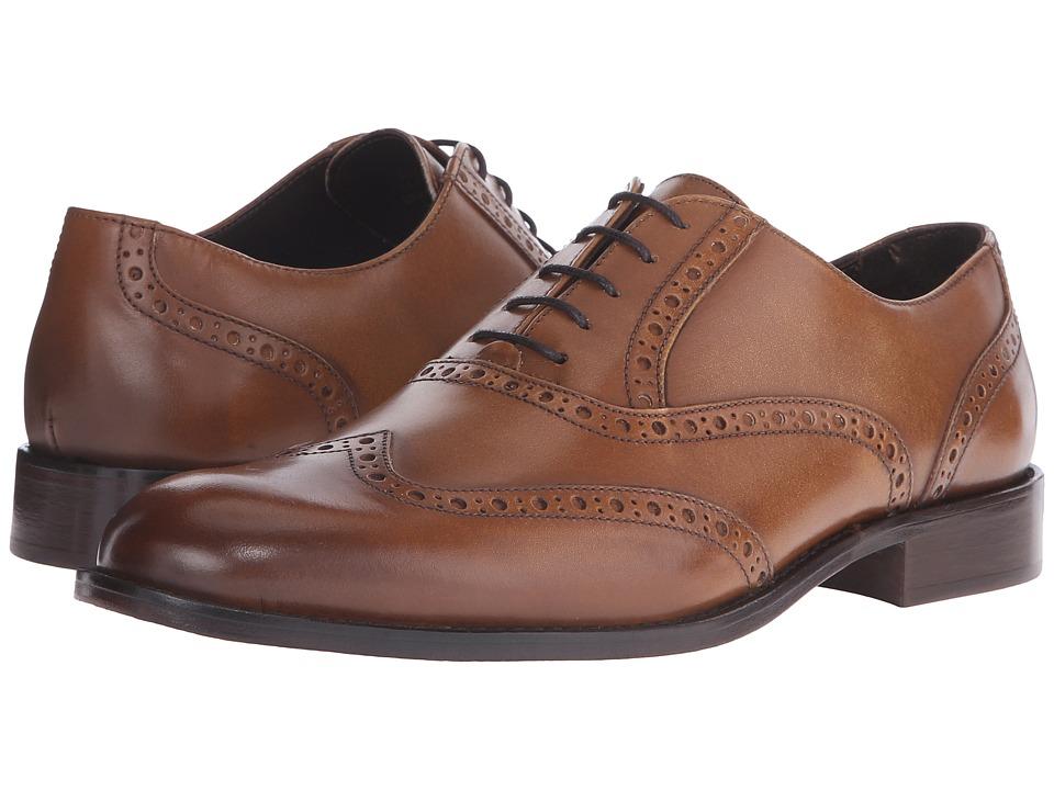 Bruno Magli - Alvar (Tan) Men's Shoes
