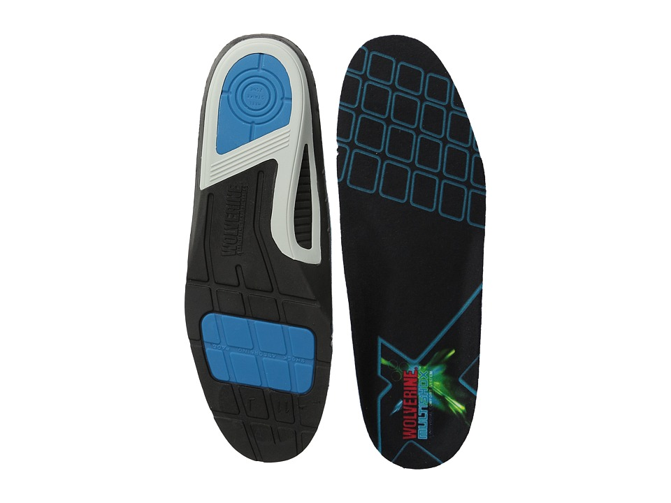 Wolverine - Wolverine Multishox Insoles (No Color) Men's Insoles Accessories Shoes
