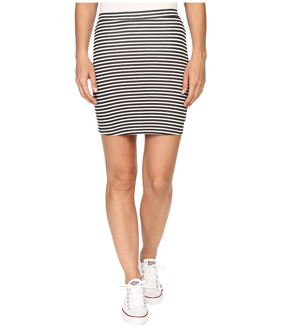 Billabong - Dream Away Skirt (Black/White) Women's Skirt