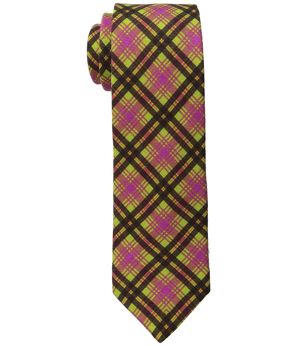 Ted Baker - St. James Plaid (Green) Ties