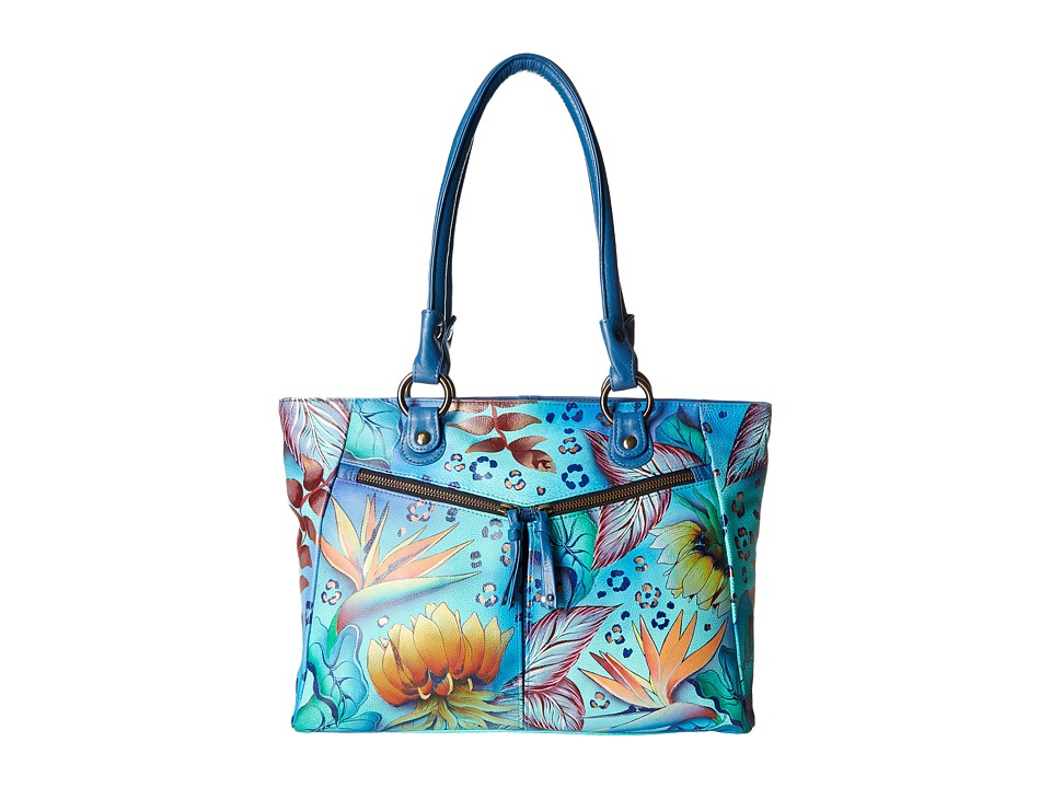 Anuschka Handbags - 562 (Tropical Dream) Tote Handbags
