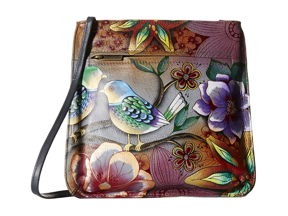 Anuschka Handbags - 452 (Blissful Birds) Cross Body Handbags