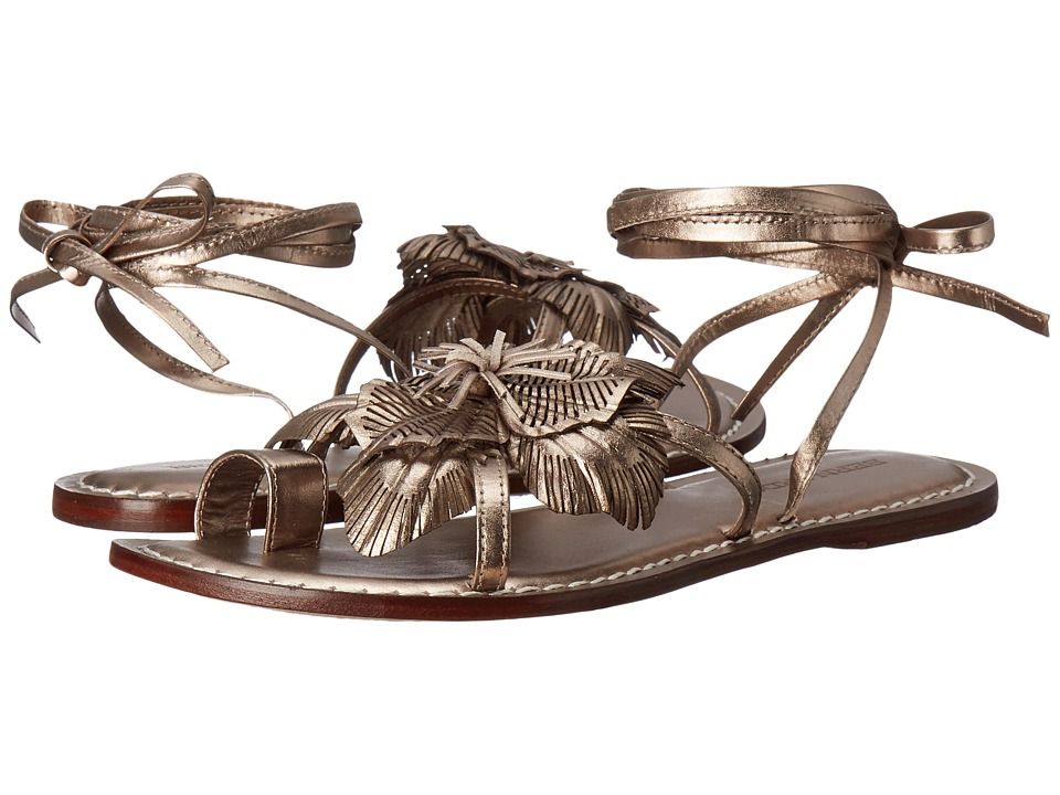Bernardo - Michelle (Pewter Antique Calf) Women's Sandals