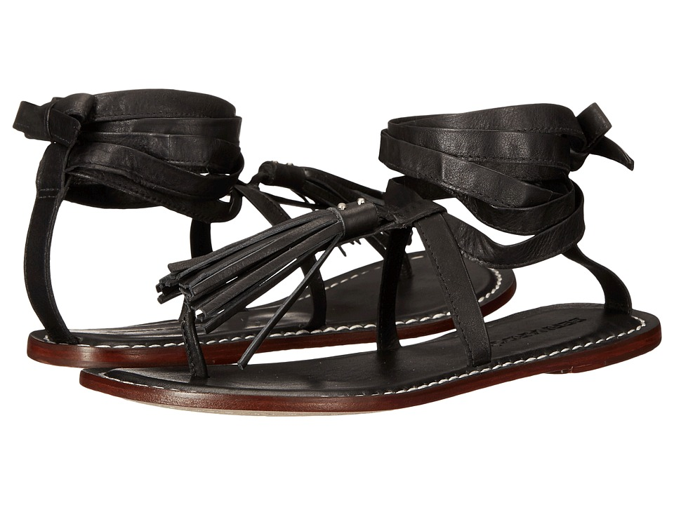 Bernardo - Mosie (Black Antique Calf) Women's Sandals