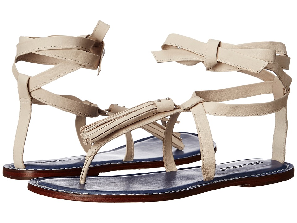 Bernardo - Mosie (Chalk Antique Calf) Women's Sandals