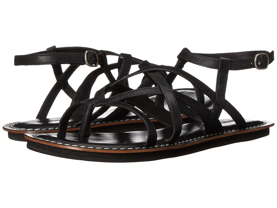 Bernardo - Cara (Black Antique Calf) Women's Sandals
