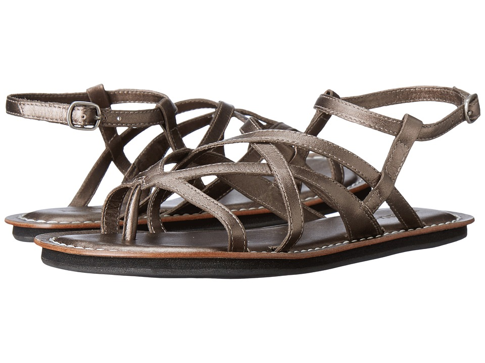Bernardo Cara (Pewter Antique Calf) Women's Sandals
