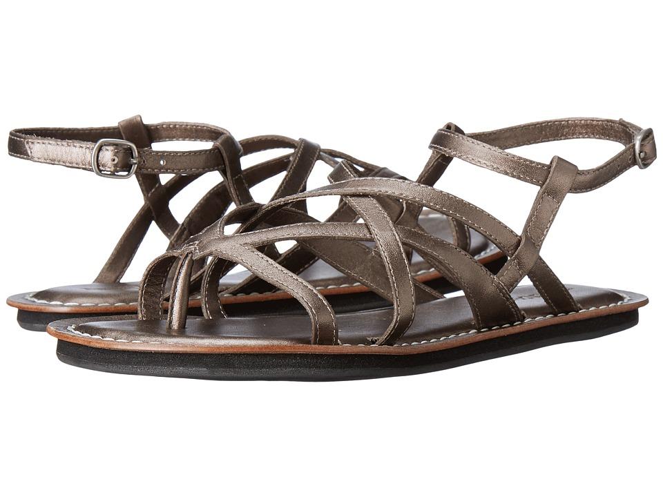 Bernardo - Cara (Pewter Antique Calf) Women's Sandals