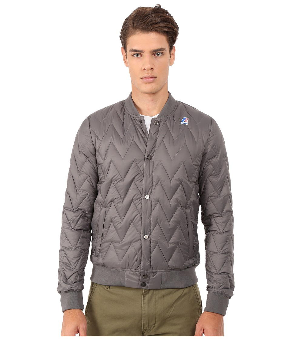 K-WAY - Louis Light Thermo Jacket (Smoke) Men
