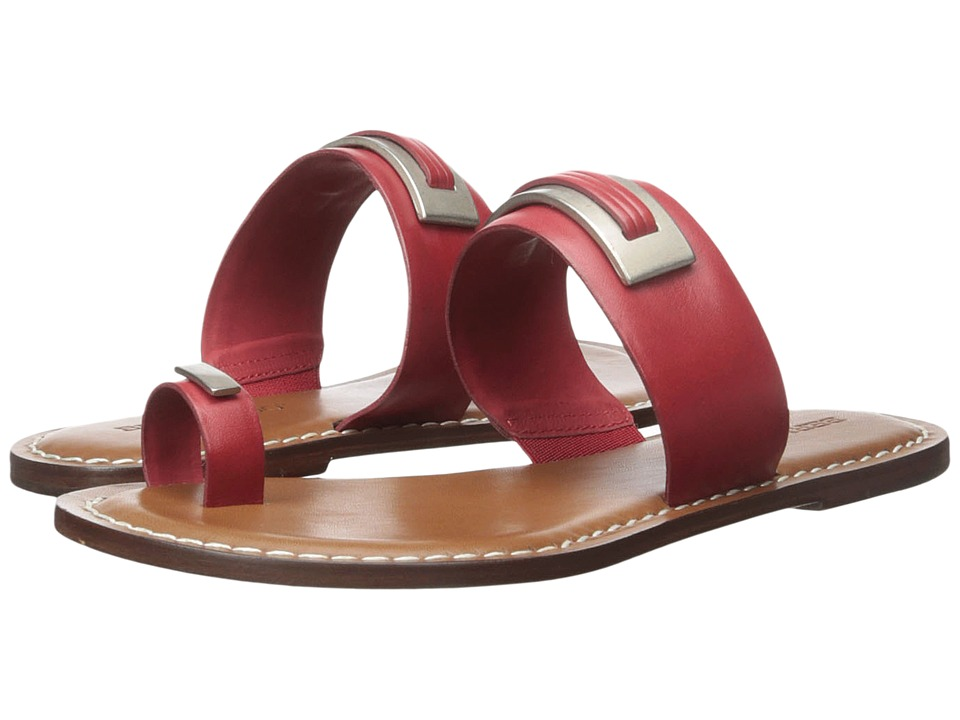 Bernardo - Molly (Red Antique Calf) Women's Sandals