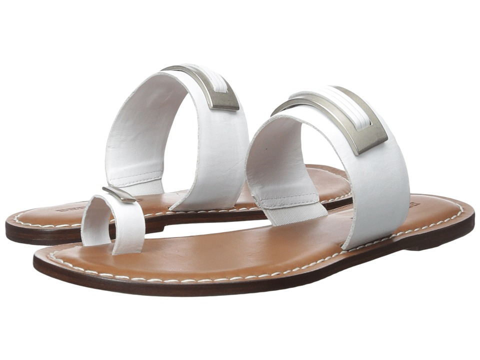 Bernardo - Molly (White Antique Calf) Women's Sandals
