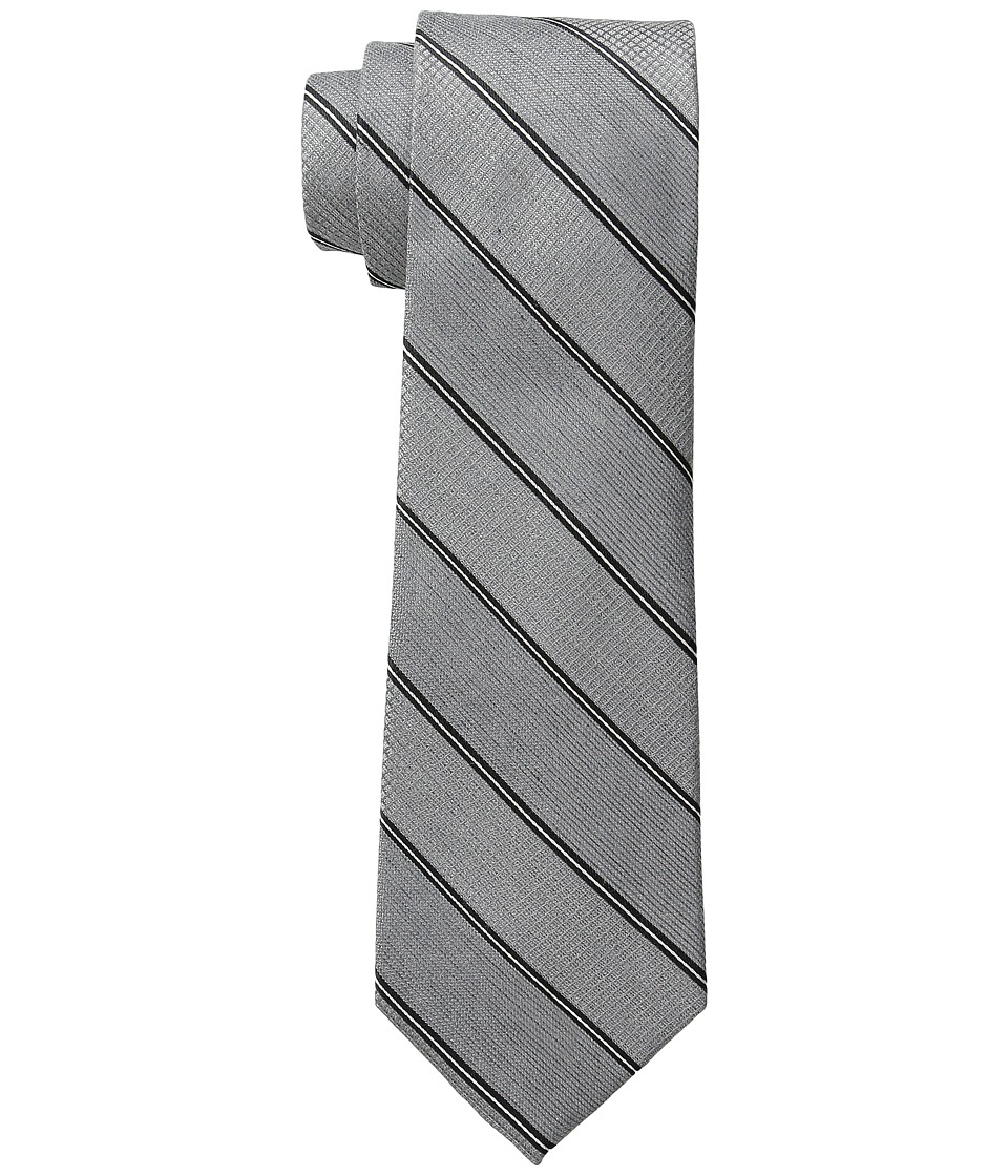 DKNY - Heather Stripe (Black) Ties