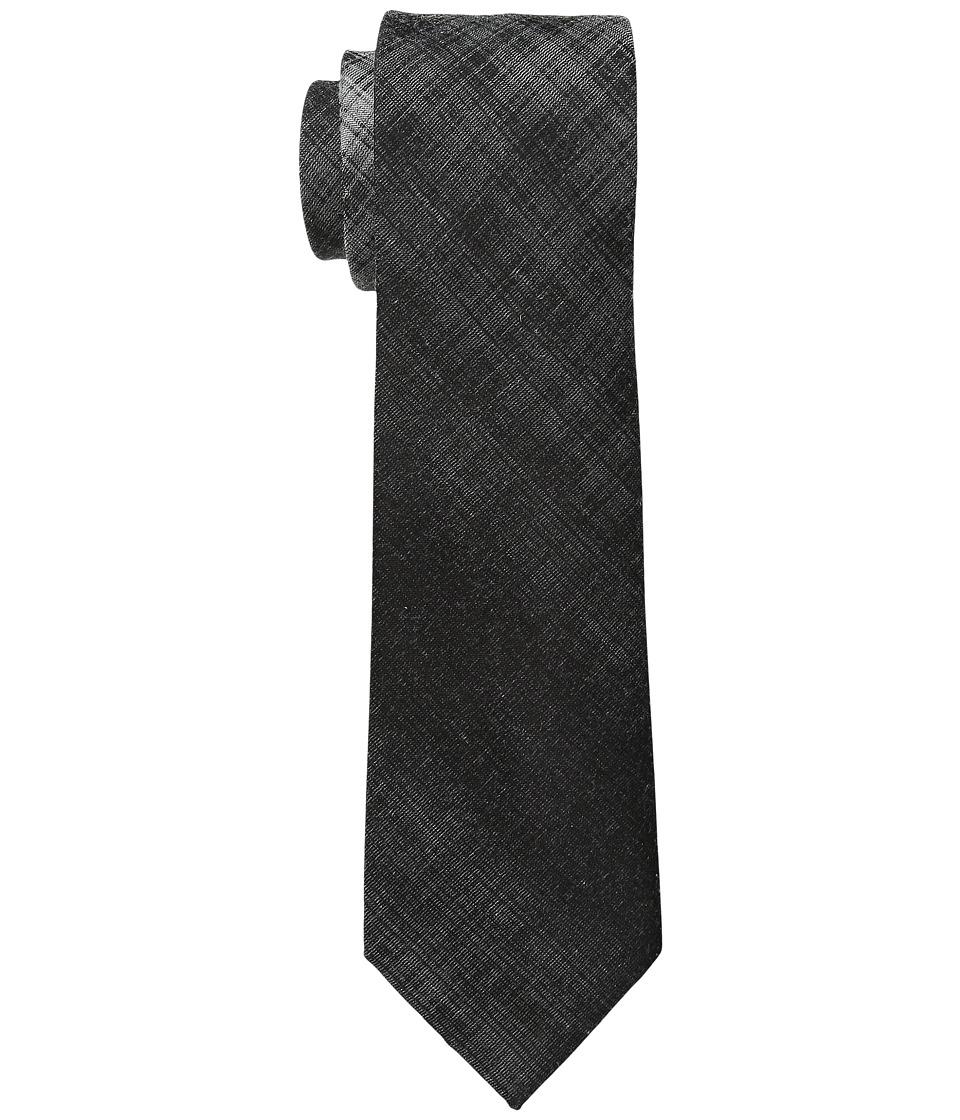 DKNY - Faded Plaid (Charcoal) Ties