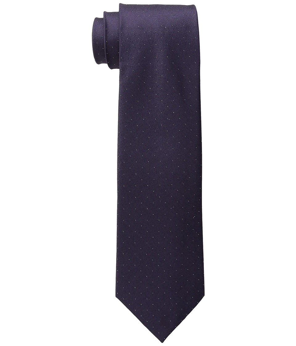 DKNY - Micro Dot (Plum) Ties