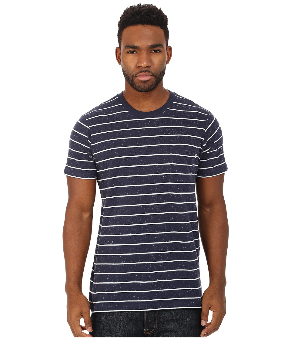 Obey - Hayes Tee (Indigo Multi) Men's T Shirt