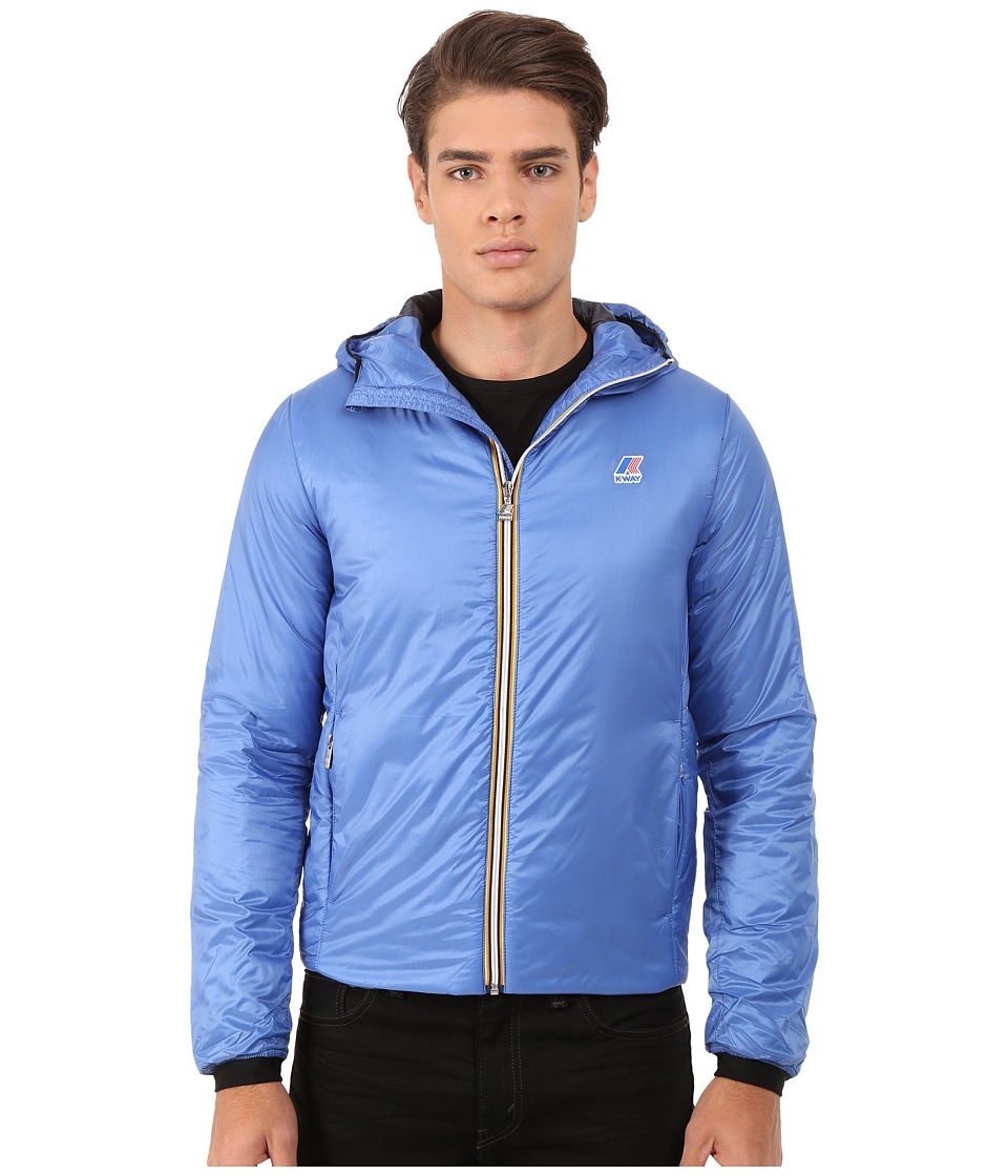 K-WAY - Edward Light Jacket (Palace Blue) Men's Coat