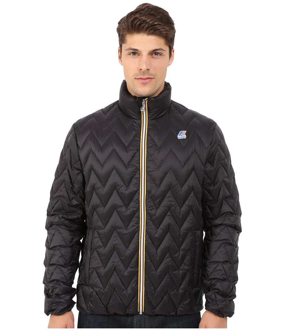 K-WAY - Valentine Light Thermo Jacket (Black) Men's Coat