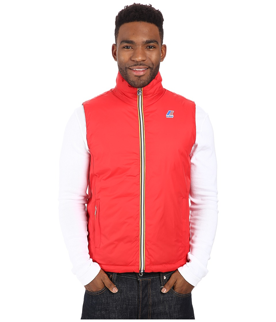 K-WAY - Yannick Thermo Plus Double Jacket (Red/Smoke) Men's Coat