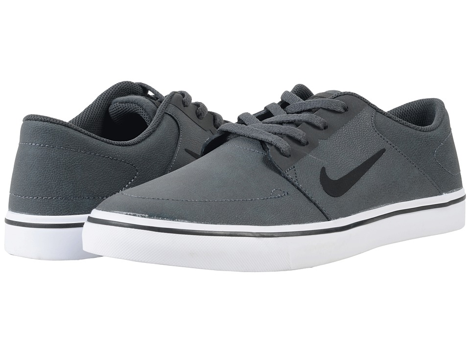 Nike SB - Portmore Premium (Anthracite/Black) Men's Skate Shoes