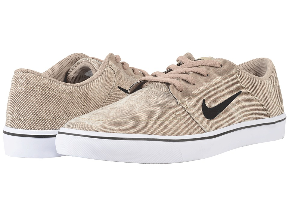 Nike SB Portmore Canvas Premium (Khaki/Light Bone/Black) Men