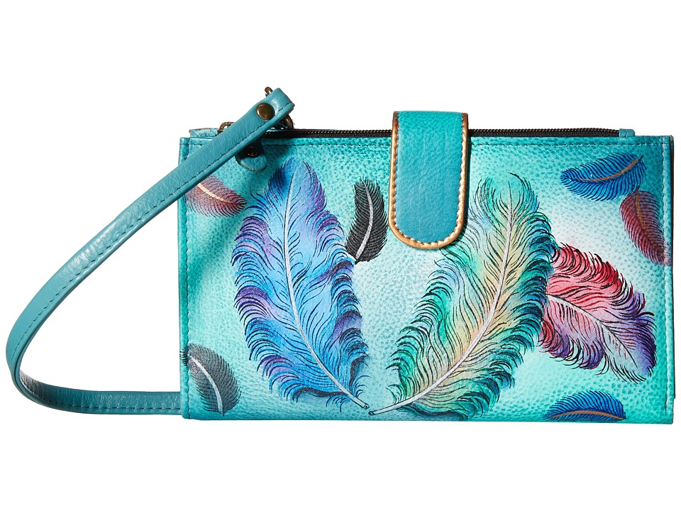 Anuschka Handbags - 1113 (Floating Feathers) Handbags