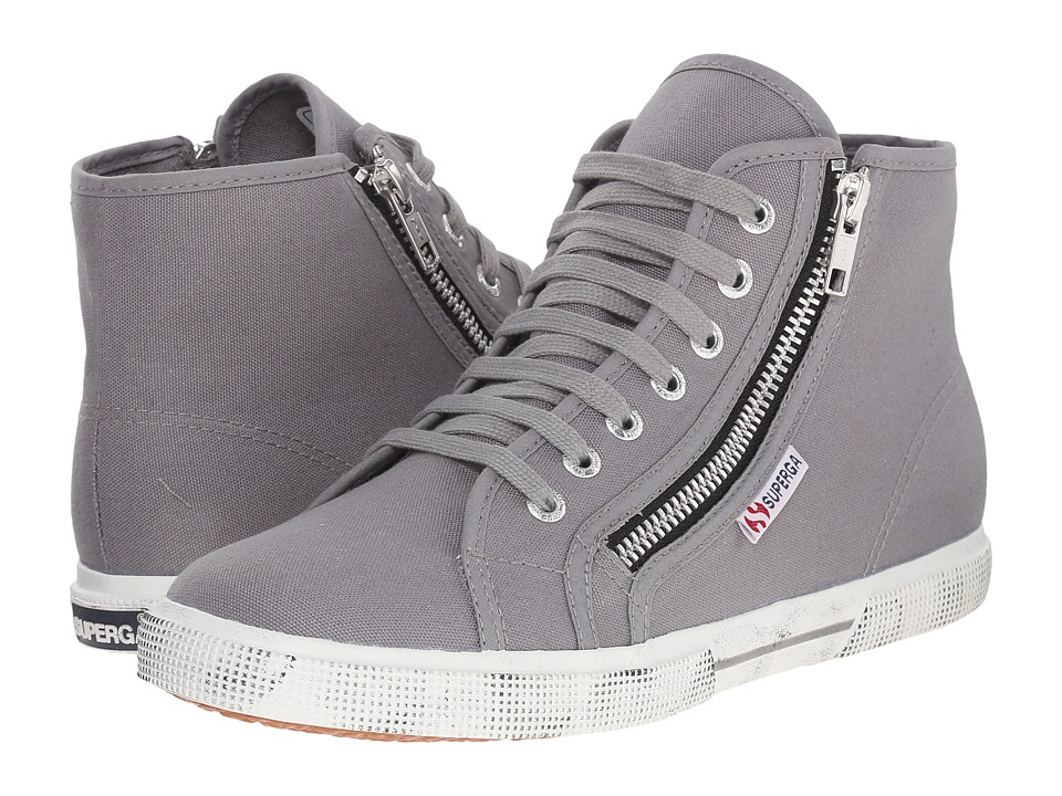 Superga - 2224 Cotdu (Grey Sage) Women's Lace up casual Shoes