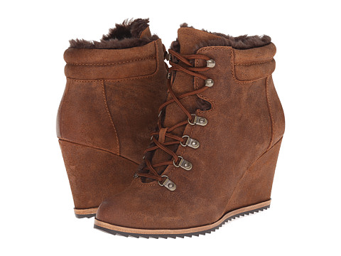 Dr. Scholl's - Izetta - Original Collection (Brown Oil Leather) Women's Cold Weather Boots