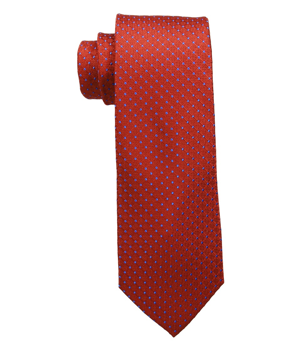 Tommy Hilfiger - Connected Dot (Red) Ties