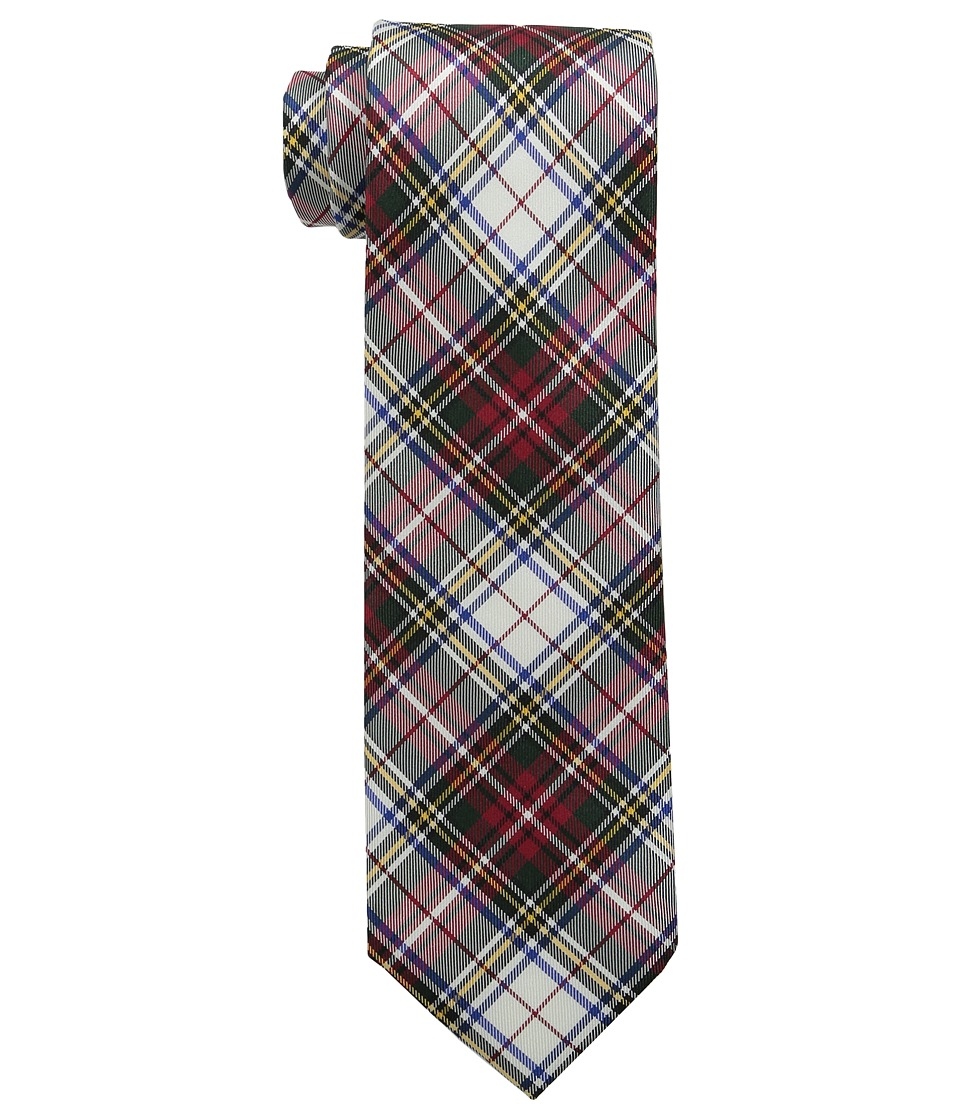 Tommy Hilfiger - Tartans (White) Ties