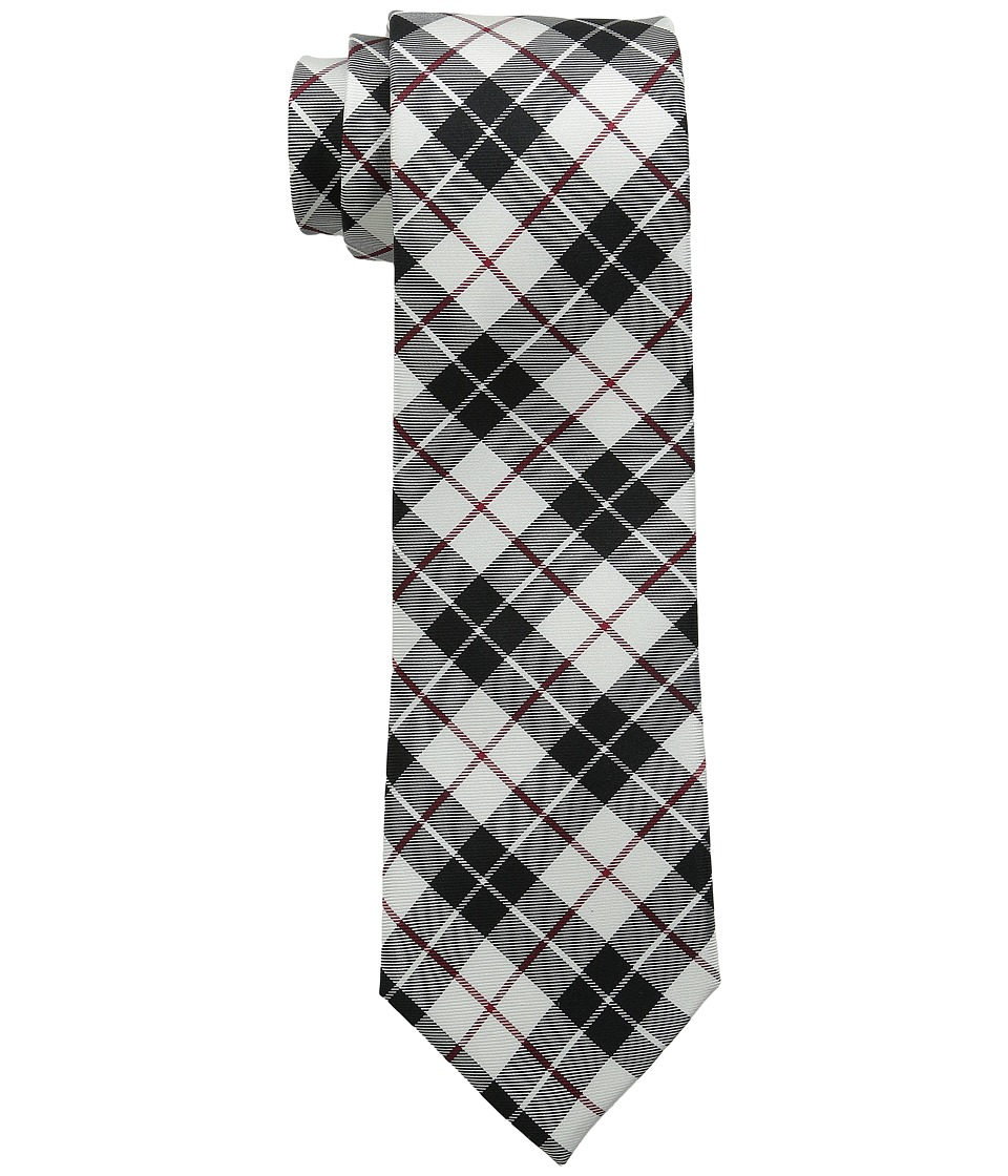 Tommy Hilfiger - Traditional Tartans (White) Ties