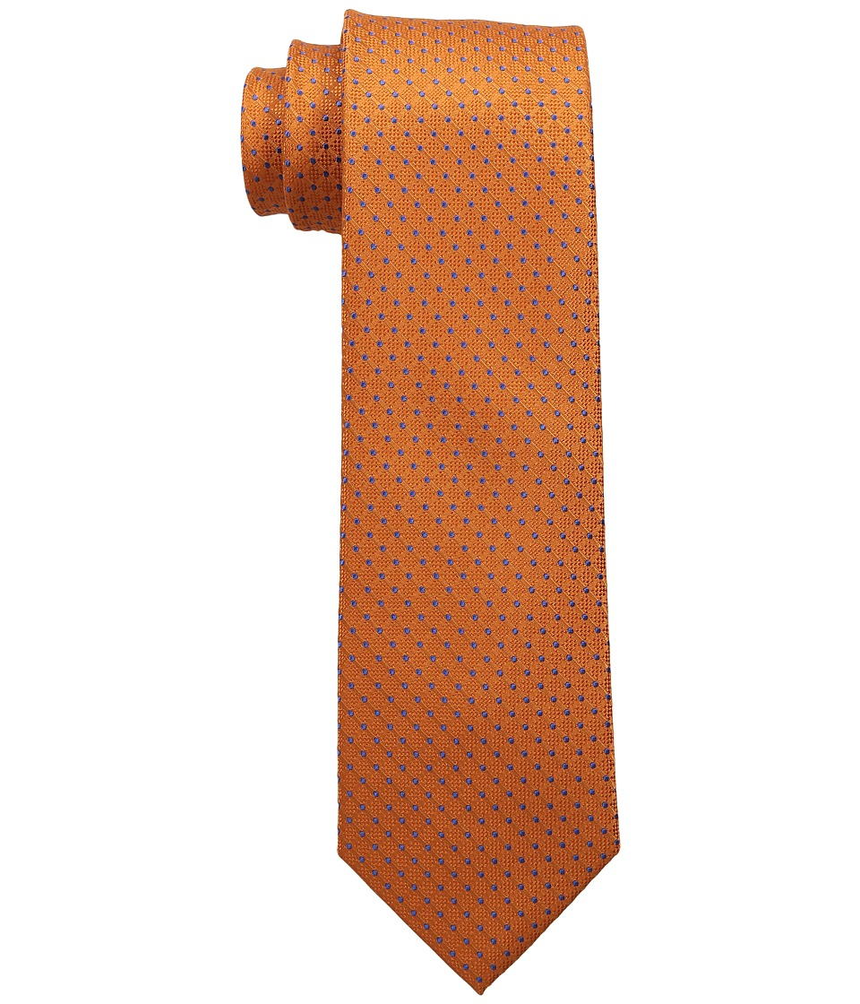 Tommy Hilfiger - Connected Dot (Orange) Ties