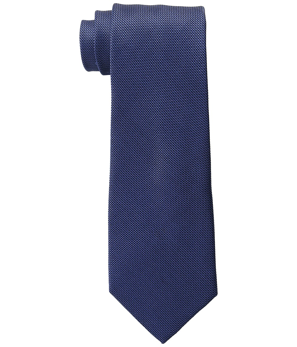 Tommy Hilfiger - Grenadine Solid (Navy) Ties