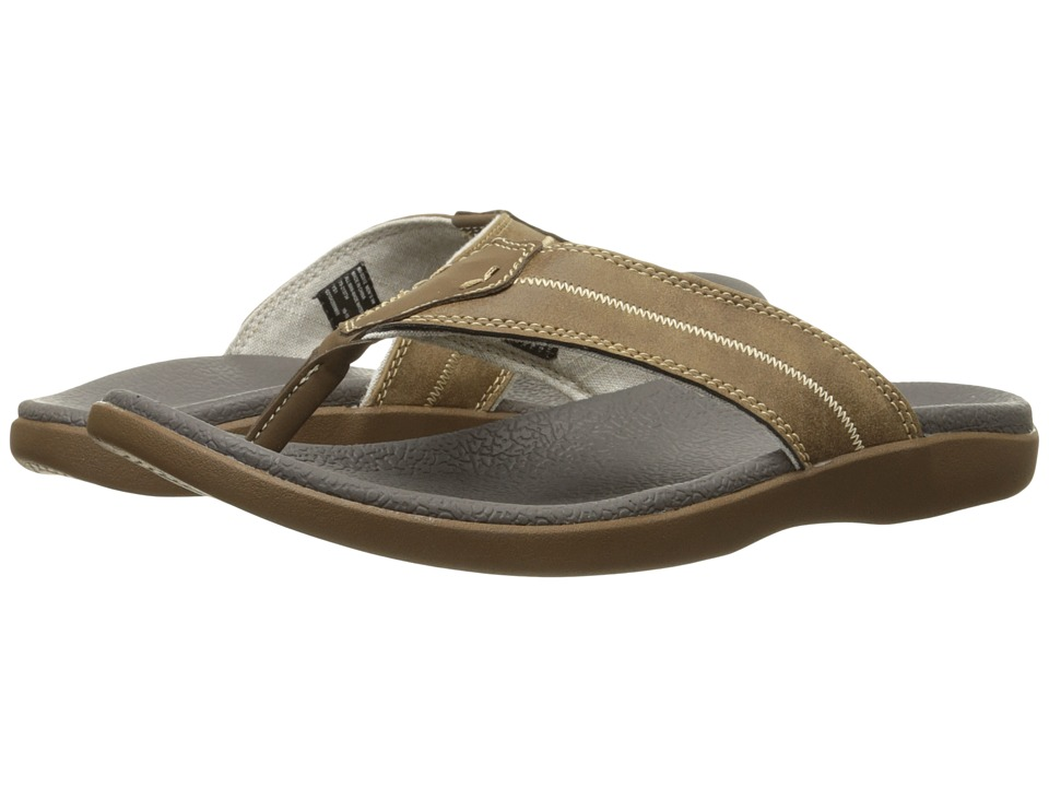 Dockers Gulfcrest (Tan Distressed) Men's Sandals